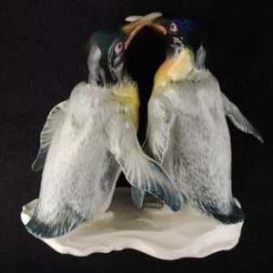 Karl ENS Portselan kuju Pingviinid MÜÜDUD