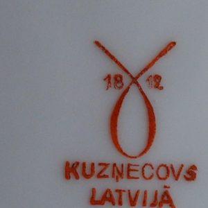 Kuznecovs Latvia - portselan taldrik