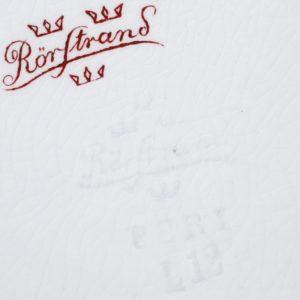 Rörstrand portselan käsimaalinguga taldrik MÜÜDUD