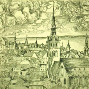 Tõnis Laanemaa , ,  Tallinn Nigulistega , ,  MÜÜDUD !!!