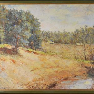 A. Luiga oil painting