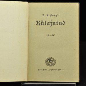"""A.Kitzberg """"Külajutud"""" III-IV 1928a"""