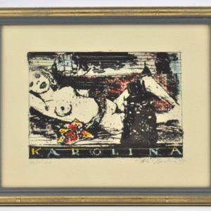 "Alo Hoidre (1916-1993) Karolina"" autolito 1987a"""