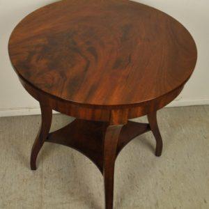 Antiikne mahagonist väike laud BRONEERITUD