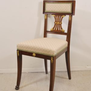 Antique Empire style chair