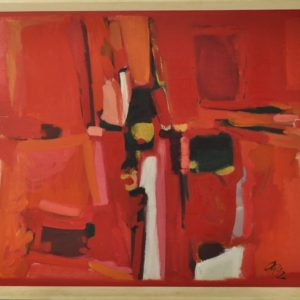 Anne Parmasto Oil Painting 1992a SOLD