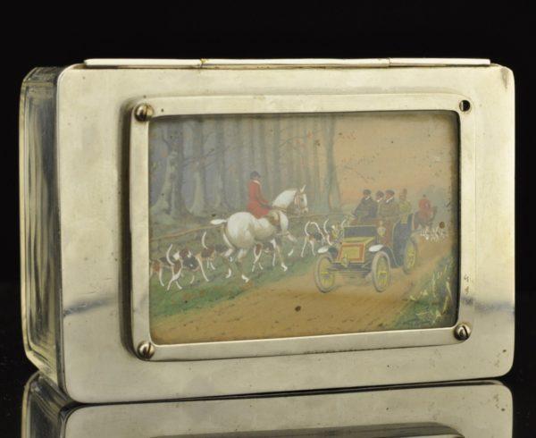 Antiike sigarikarp, klaas ,käsimaal