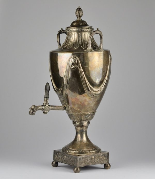 Antiikne 18.saj. Inglise samovar, hõbe - Thomas Hemings
