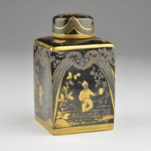 Antiikne 19.saj. Prantsuse teepurk, käsimaal