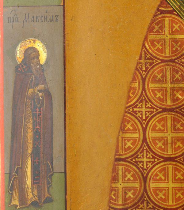 Antiikne 19.saj. Vene ikoon - Nikolai Imetegija