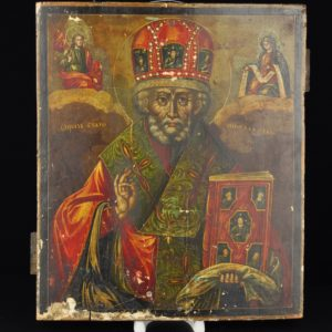 Antique Russian icon XIX