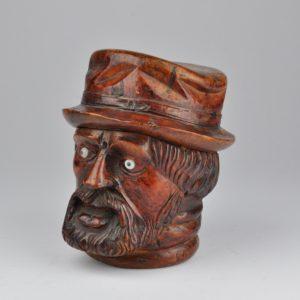 Antiikne 19.saj. puidust tubakakarp