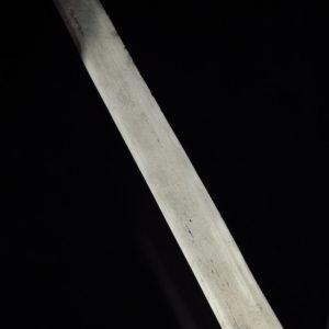 Antiikne Idamaine nuga, luust käepide, 19.saj. lõpp