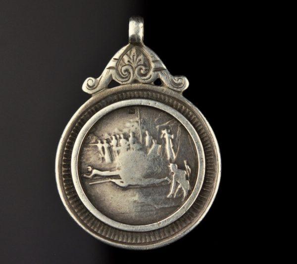 Antiikne Inglise ripats, hõbe, 1