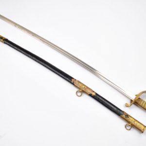 Antiikne Jaapani ohvitseri mõõk, I maailmasõda