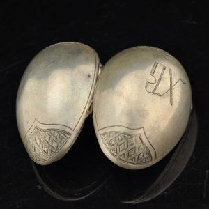 Antique Easter egg, 84 silver
