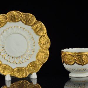 Antiikne Meisseni portselan tass, käsimaal