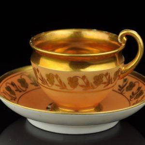 Antique porcelain cup, P.L.Dagoty