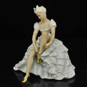 Antique German Schaubach Porcelain Ballerina SOLD