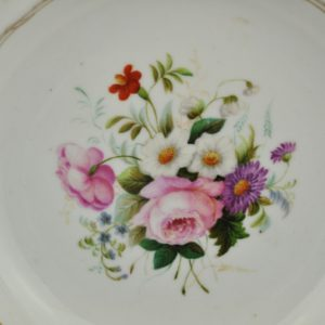 Antique porcelain plate, Nicolay I, hand painting SOLD