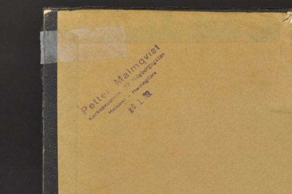 Antiikne Tsaari-Vene foto, raamitud 1936 Helsingis