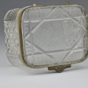 """Antiikne Tsaari-Vene klaasist karp Bratja K i C Popovõ"""" MÜÜDUD"""""""