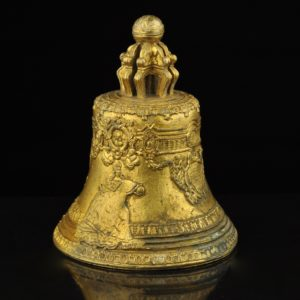 Antique Imperial Russian bronze bell