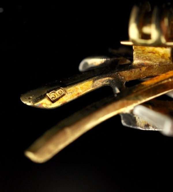 Antiikne Tsaari-Vene pross, 56 kuld ja briljandid