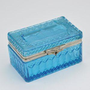 Antiikne Tsaari-Vene sinisest klaasist karp MÜÜDUD