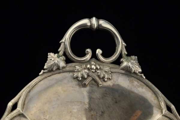 Antique Imperial-Russian dish, 84 silver