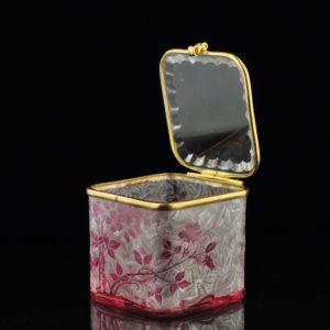 Antiikne XIX saj. klaasist karp 14102 C1334