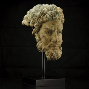 "Antique bust ""Sofokles (496-406)"""
