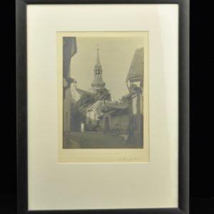 """Antiikne foto """" Tallinn"""" A.Hansoff"""