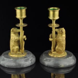 Antique candlestick 2 pc