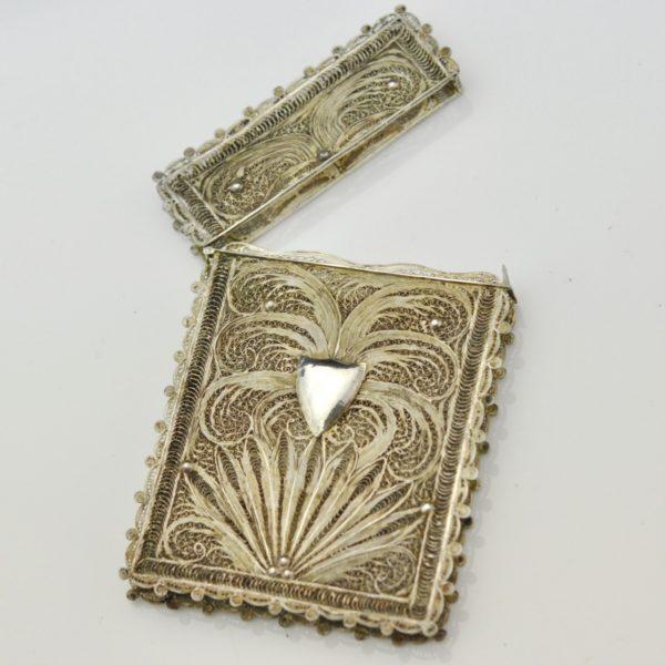 Antiikne karp, filigraan, hõbe