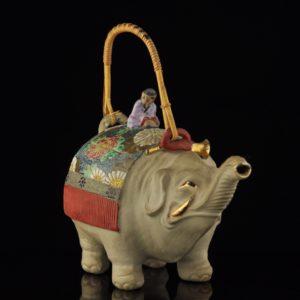 Antiikne keraamiline teekann - Elevant 13364 C206