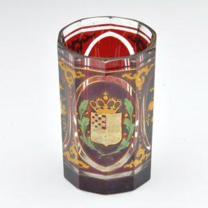 Antiikne klaas vapiga