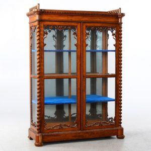 Antique Classical Display cabinet 19th Century