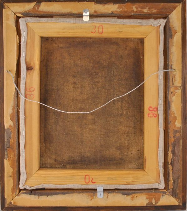 Antiikne maal - Carl Johann Lasch XIX saj.