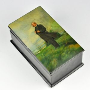 Antiikne pappjeemasjee karp - Lenin 13856 C845