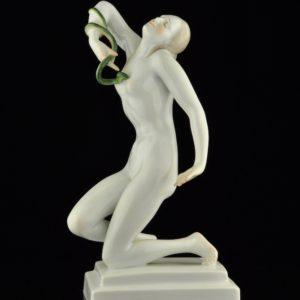 Antiikne portselan figuur, Herend MÜÜDUD