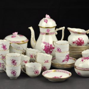 Antique porcelain, hand painted, Herend