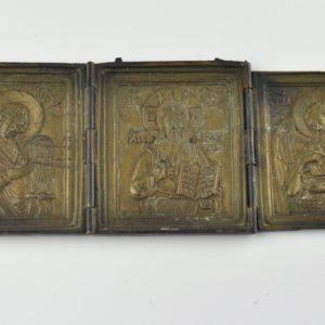 Antiikne pronks ikoon 13156 J520