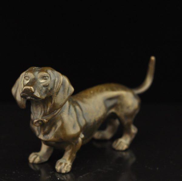 Antiikne pronksfiguur - Koer