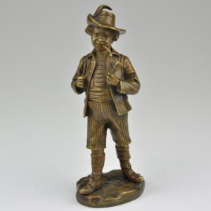 Antique bronze figure