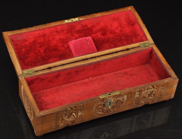 Antiikne puidust kast