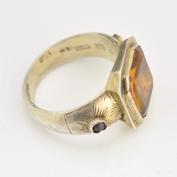 Antiikne sõrmus, 78 hõbe