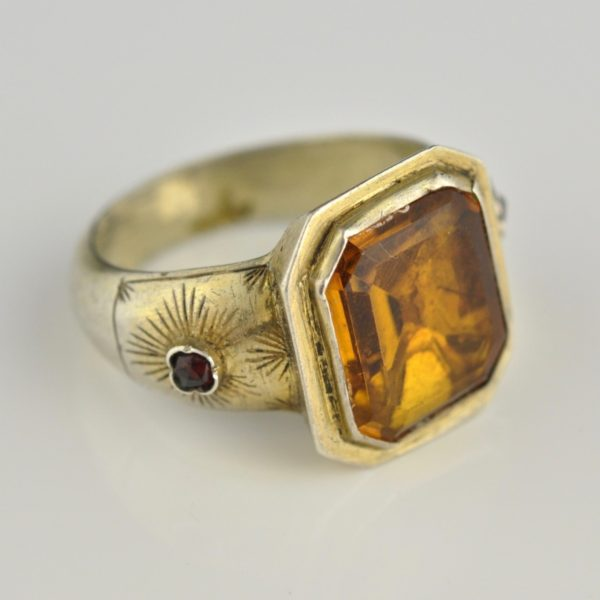 Antique ring, 78 silver