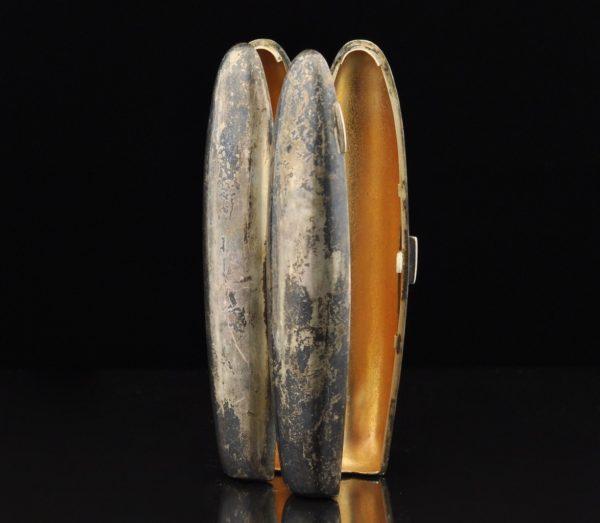 Antiikne sigarikarp, hõbe