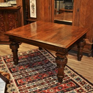Antique large square table SOLD